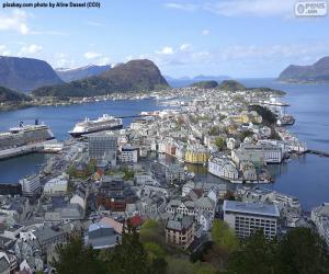 puzzel Ålesund, Noorwegen