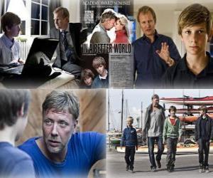 puzzel 2011 Oscar - Beste Buitenlandse Film: Susan Bier - In een betere wereld - (Denemarken) 1
