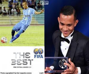 puzzel 2016 FIFA Puskas award