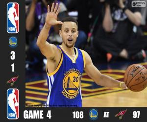 puzzel 2016 NBA de finale, spel 4