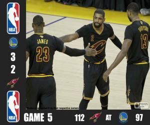 puzzel 2016 NBA de finale, spel 5