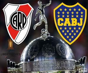 puzzel 2018 Copa Libertadores definitieve