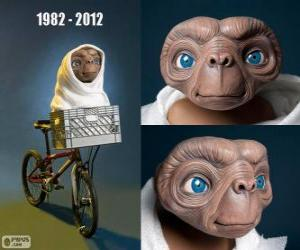 puzzel 30 Verjaardag van ET The Extra-Terrestrial (1982)