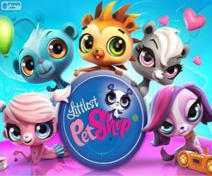 puzzel 5 Huisdieren van Littlest PetShop