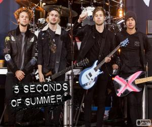 puzzel 5 seconds of Summer, 5SOS