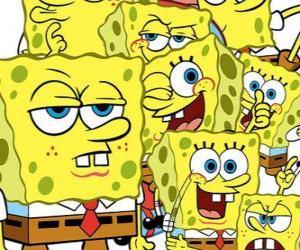 puzzel Sponge Bob