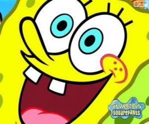 puzzel SpongeBob is de held van de avonturen in Bikini Bottom