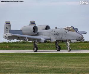 puzzel A-10A Thunderbolt II
