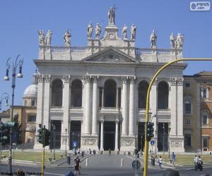 puzzel Aartsbasiliek van Sint-Jan van Lateranen, Rome