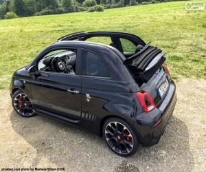 puzzel Abarth 500 cabrio