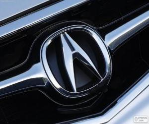 puzzel Acura-logo, Japans automerk