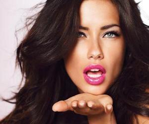 puzzel Adriana Lima is een Braziliaans model