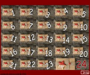puzzel Advent kalender geschenken