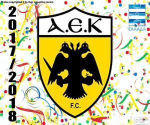 puzzel AEK Athene, Super Lig 2017-18