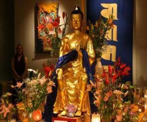 puzzel Afbeelding van Boeddha