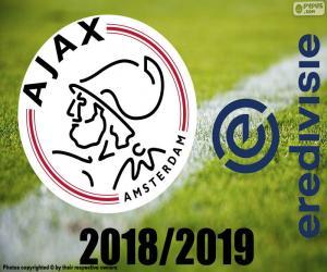 puzzel AFC Ajax, kampioen 2018-2019