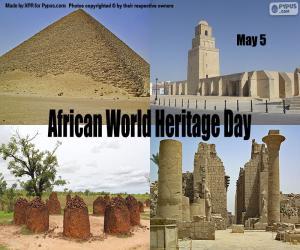 puzzel Afrikaanse Werelderfgoeddag