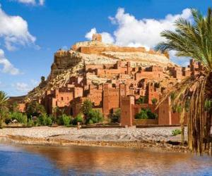 puzzel AIT Ben Haddou, Marokko