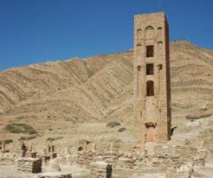 puzzel Al Qal'a van Beni Hammad, Algeria