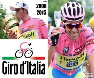 puzzel Alberto Contador, Giro 2015