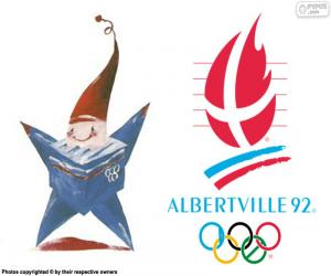 puzzel Albertville 1992 Olympische spelen