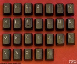 puzzel Alfabet de sleutels