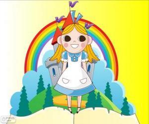 puzzel Alice, het meisje in Wonderland