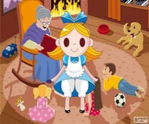 puzzel Alice in Wonderland