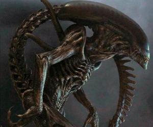 puzzel Alien