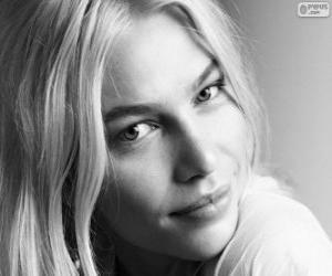 puzzel Aline Weber, Braziliaans model
