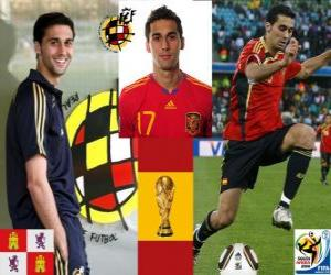 puzzel Álvaro Arbeloa (De Spartaan) Spaanse team de verdediging