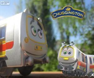 puzzel Amaril, de snelle trein uit Chuggington