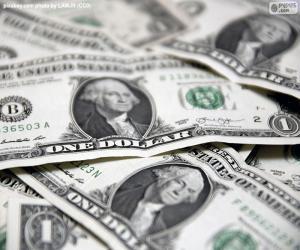puzzel Amerikaanse dollar