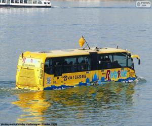 puzzel Amfibische bus
