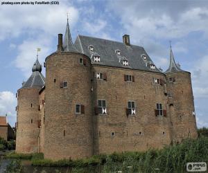 puzzel Ammersoyen Castle, Nederland
