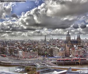 puzzel Amsterdam, Nederland