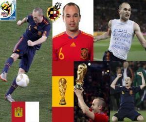 puzzel Andres Iniesta (Sweet Iniesta) Spaanse nationale elftal Middenvelder