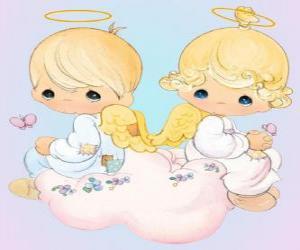 puzzel Angels. Precious Moments