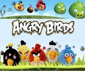 puzzel Angry Birds van Rovio. Video Game