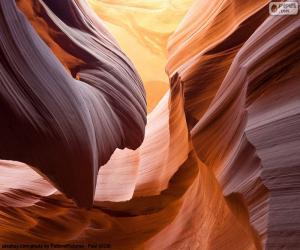 puzzel Antelope Canyon, Verenigde Staten