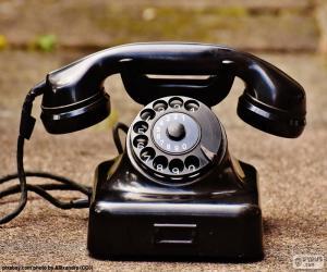 puzzel Antieke telefoon
