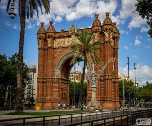 puzzel Arc de Triomf, Barcelona