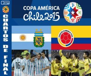 puzzel ARG - COL, Copa America 2015