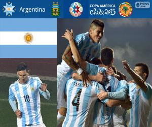 puzzel ARG finalist, Copa America 2015