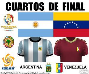 puzzel ARG - VEN, Copa America 2016