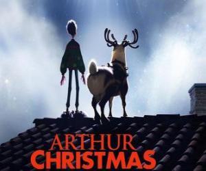 puzzel Arthur Christmas