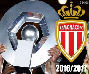 puzzel AS Monaco kampioen 2016-2017