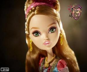 puzzel Ashlynn Ella, de dochter van Assepoester
