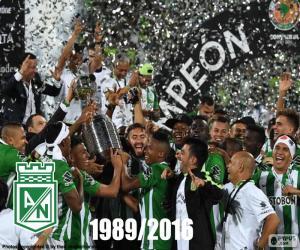 puzzel Atlético Nacional, Copa Libertadores 2016