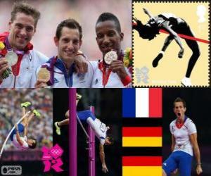 puzzel Atletiek Mannen polsstokhoogspringen Londen 2012